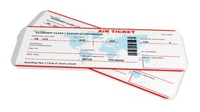 Air tickets Royalty Free Stock Photo
