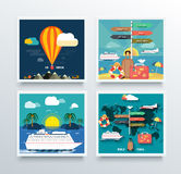 Air Tourism and World Travel Concept Royalty Free Stock Images
