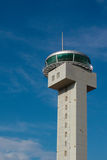 Air Traffic Control. Tower against a blue sky at  Bangalore (bengalooru), India Stock Photos