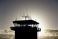 Air traffic control Stock Image
