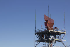 Air traffic control radar Royalty Free Stock Photography