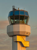 Air Traffic Control. Small Air Traffic Control Tower as a Symbol for Holiday Feeling Royalty Free Stock Photos