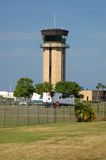 Air Traffic Control Tower. Control tower at Daytona Beach airport, Daytona Beach, Florida Royalty Free Stock Image