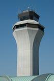 Air traffic control tower agai Royalty Free Stock Photo
