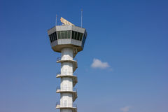 Air Traffic Control Tower. In airport Stock Photos