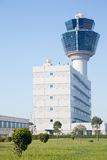 Air traffic control tower of Athens airport Royalty Free Stock Photos