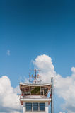 Air traffic control tower Stock Image