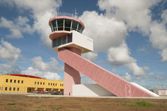 Air Traffic Control Tower Bonaire Stock Photography