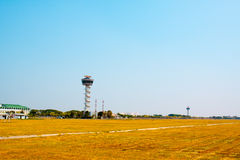 Air Traffic Control tower Sunset Sky Royalty Free Stock Images