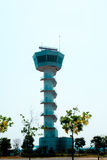 Air Traffic Control tower Sunset Sky Stock Image