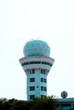 Air Traffic Control tower Sunset Sky Royalty Free Stock Photography