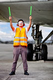 Air traffic controller Stock Photo