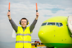 Air traffic controller Royalty Free Stock Photography