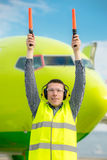 Air traffic controller Royalty Free Stock Photo