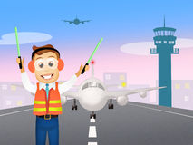 Air traffic controller Stock Photography