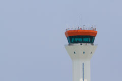 Air traffic controller tower Stock Image