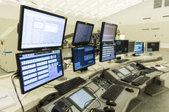 Air Traffic Services Authority control center no people Royalty Free Stock Images