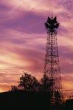 Air traffic signal antenna Royalty Free Stock Photo