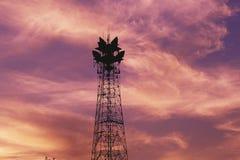 Air traffic signal antenna Royalty Free Stock Image
