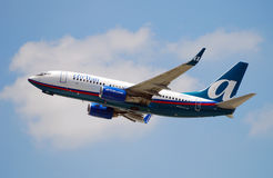 Air Tran passenger jet Royalty Free Stock Photography