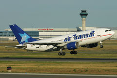 Air Transat Airbus A310 Taking-Off Royalty Free Stock Photo