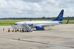 Air Transat airlines Boeing Stock Images