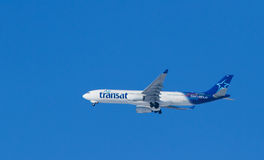 Air Transat airplain Stock Image