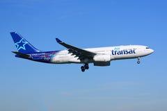 Air Transat flygbuss A330 Arkivfoton