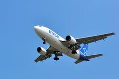 Air Transat migra a descolagem Imagem de Stock Royalty Free