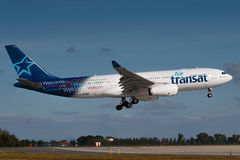 Air Transat royalty free stock images