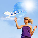 Air transport Stock Photo