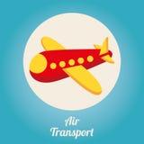 Air transport design Stock Image