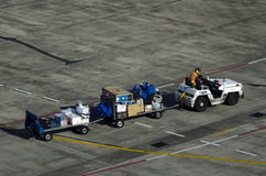 Air transport luggage Royalty Free Stock Image