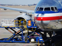 Air transportation Stock Photography