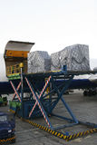 Air transportation Royalty Free Stock Photo