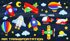 Air transportation Stock Photos