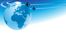 Air travel. Transportation travel, travelling Royalty Free Stock Images
