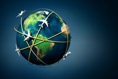 Air travel Royalty Free Stock Photo