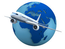 Air travel Stock Images