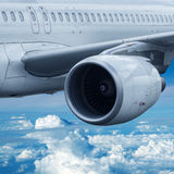 Air travel. Concept, square composition Stock Photography