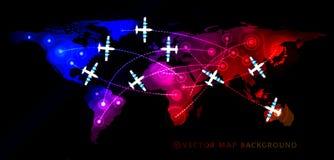 Air travel flight Royalty Free Stock Photography