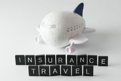 Air travel insurance Stock Images
