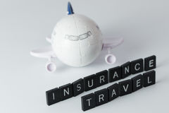 Air travel insurance Royalty Free Stock Photo