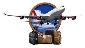 Air Travel Plane Royalty Free Stock Image