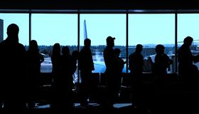 Air Travelers Royalty Free Stock Images