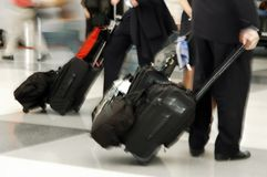 Air Travelers Stock Image