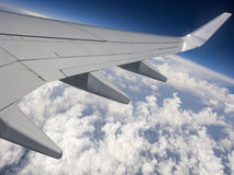 Air travelling Stock Photography