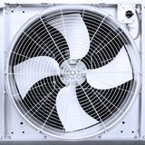 Air turbine fan for ventilation and air conditioning isolated on white background Stock Images