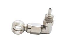 Air valve stem Royalty Free Stock Photo