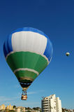 air varma ballonger Arkivbild
